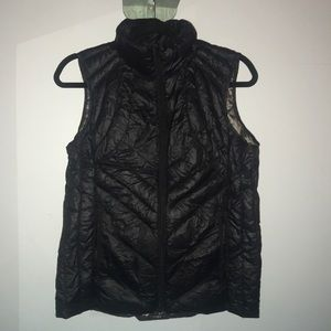 Black vest with minor tear (reduced price)